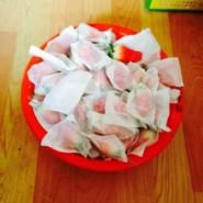 草莓套袋单层复合纸图片