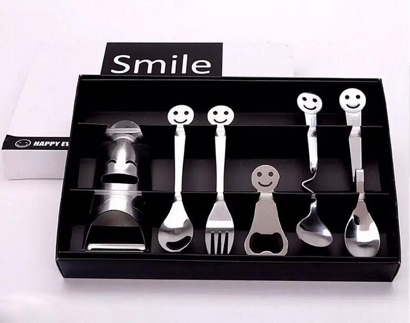 smile餐具套装|开心餐具销售