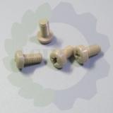 供应耐腐蚀peek塑料螺丝