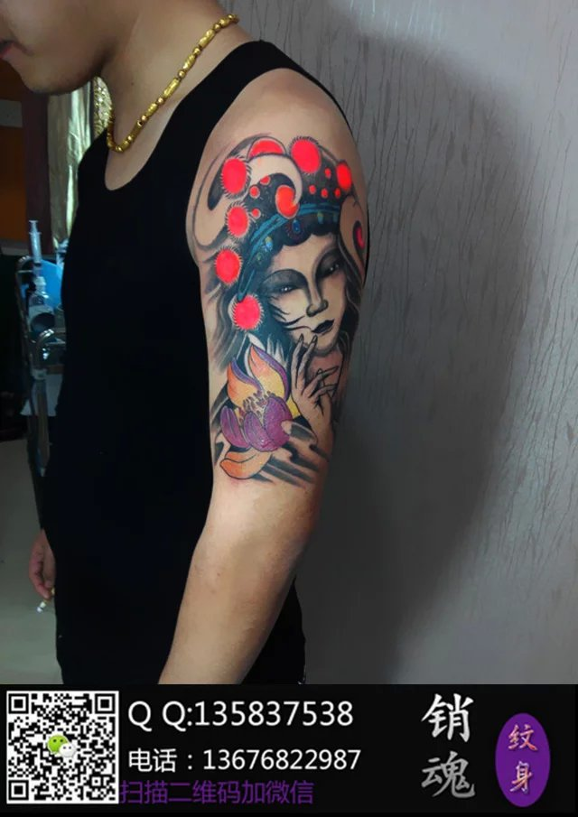 所以花旦纹身除了好看之外图片