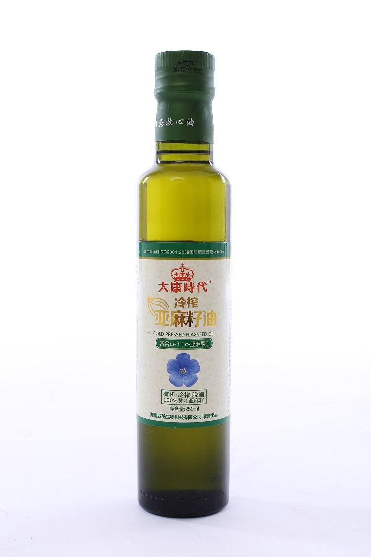 供应大康时代亚麻籽油250ML