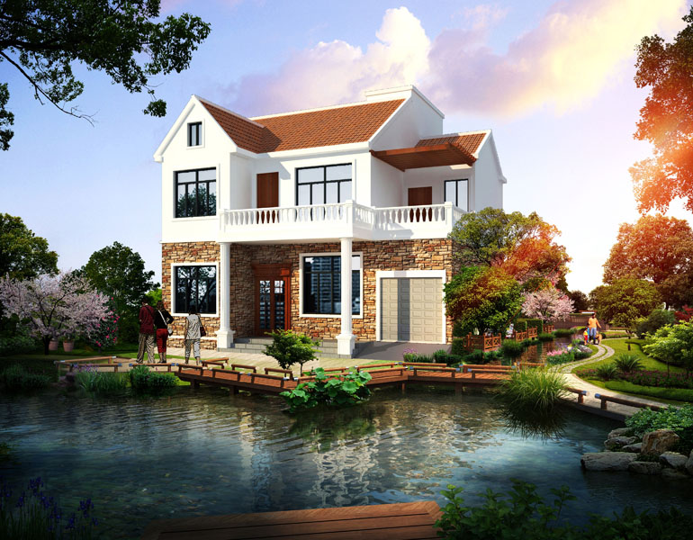 南宁市别墅设计|别墅设计供应商|供应用于自建房屋的