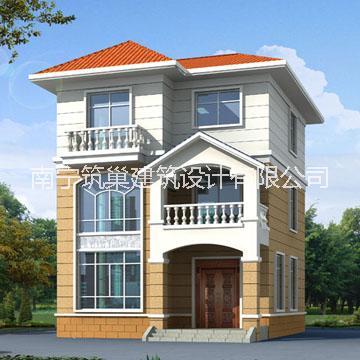 8米x9米三层70平米小别墅设计批发