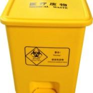 15L加厚湖北优质医疗脚踏垃圾桶图片