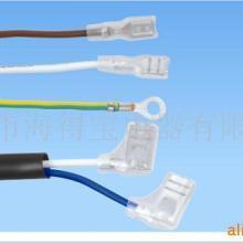 供应用于电脑的快速接线高频端子 厂家专业生产定制 AC/DC快速接线高频端子 品字插头接插件端子批发