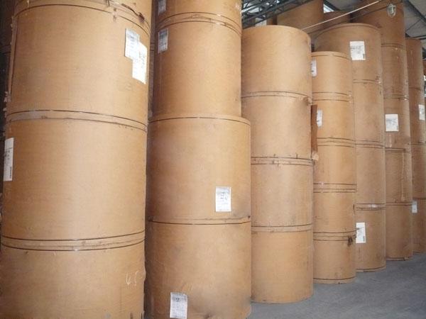 供应用于包装用纸|印刷用纸|淋膜用纸的全木浆80-250g黄色牛皮纸