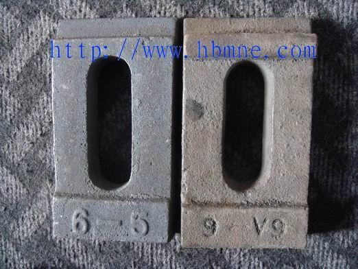 供应用于钢轨的钢轨压板包括重轨压板和轻轨压板