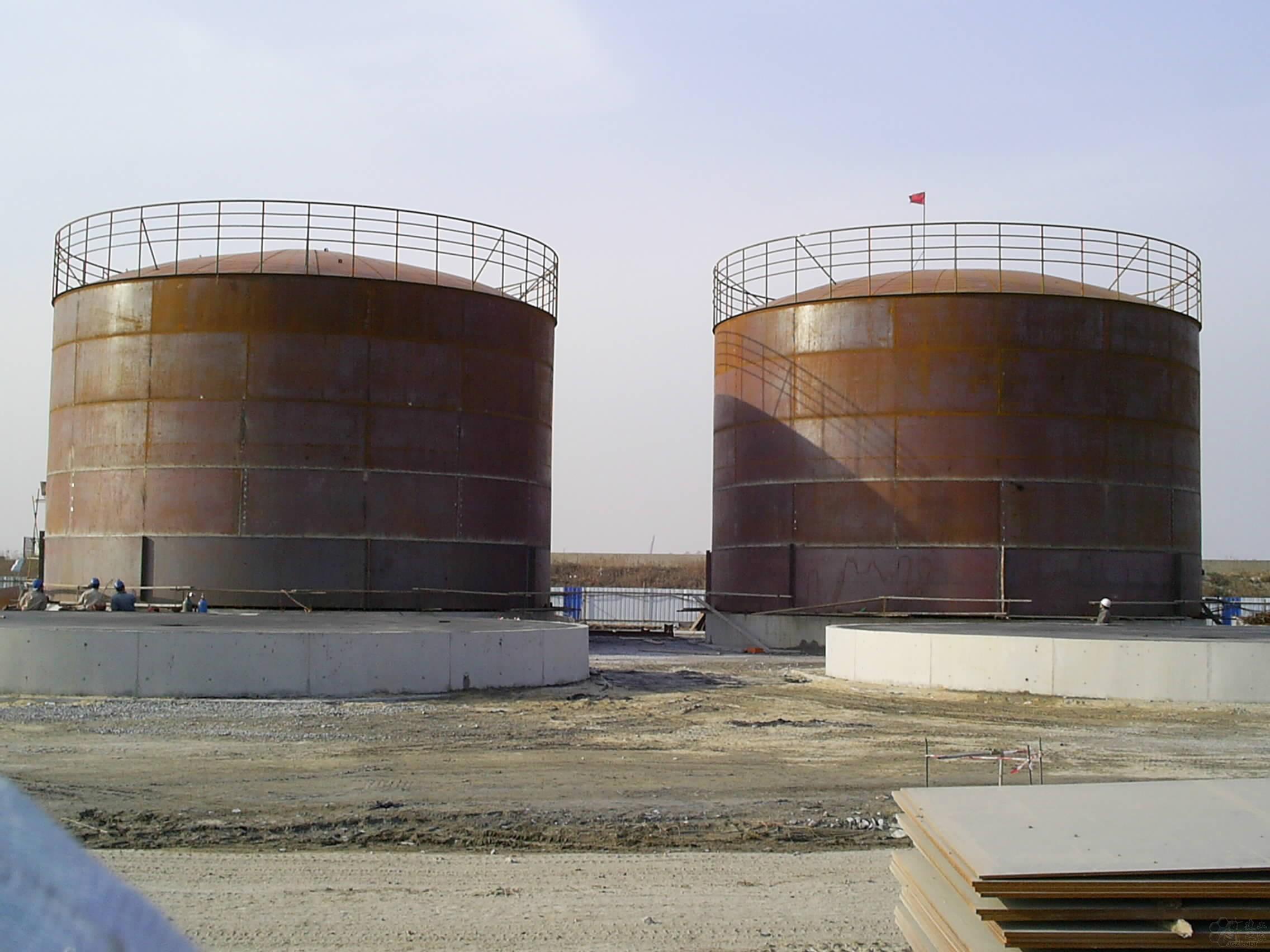 金银铜焊油罐结构