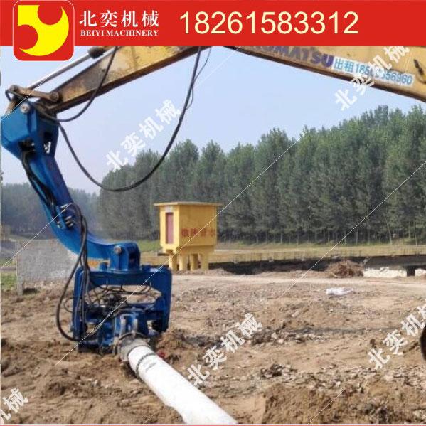 打拔钢板桩水泥桩钢轨桩用振动锤销售