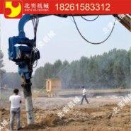 供应打拔桩机打预制桩高频液压打拔桩机8米混凝土预制桩高频液压震动打桩机械 20吨30吨40吨挖掘机打拔桩机振动锤