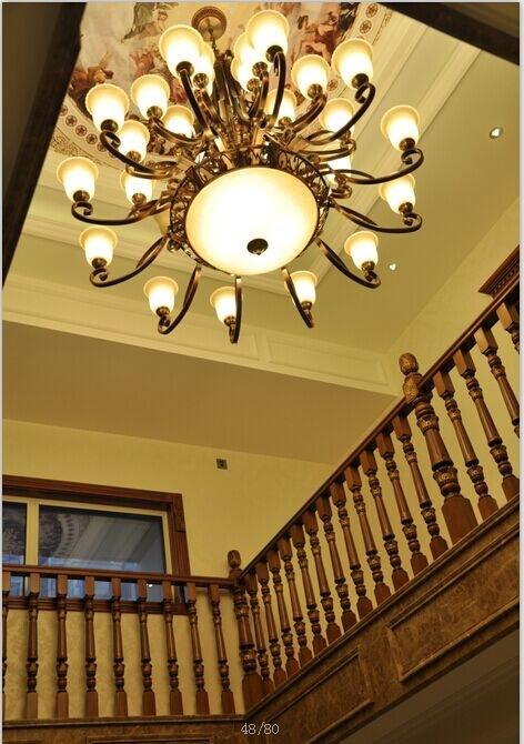 供应欧式水晶灯 餐吊灯 现代水晶灯 欧式古典纯铜灯  极简风格灯