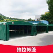 推拉帐篷仓库储蓄帐篷图片