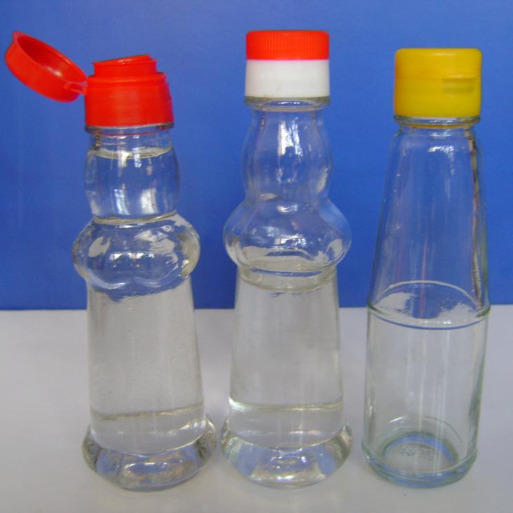 供应用于芝麻油包装的100ml二两装三款现货麻油瓶