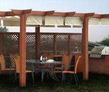 供应用于园林的黄山绿力木塑凉亭地板护栏本品适用于户外阳台、公园、栈道、台阶踏板广场平台铺装、小区景观道路等