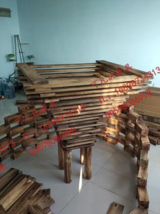 玩教具图片描述:幼儿园户外建构大型积木|户外碳化