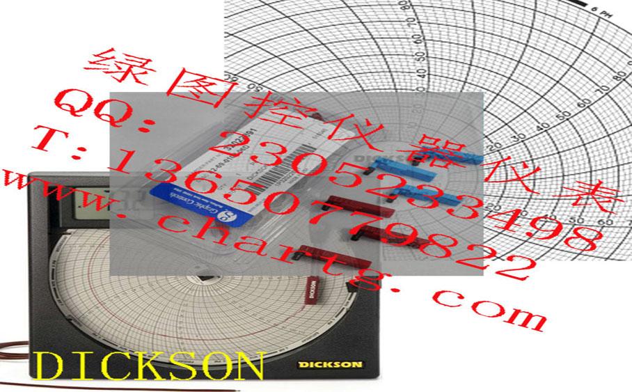 天津DICKSON温湿度记录纸价格 迪克生记录纸60张/盒