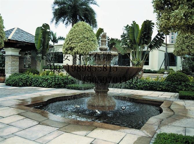 欧式人物小喷泉