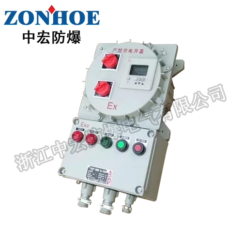 BXK系列防爆控制箱立式多回路防爆配电箱防爆控制箱厂家