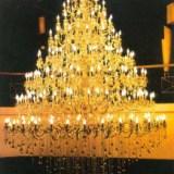 供应酒店别墅工程定制欧式水晶蜡烛吊灯