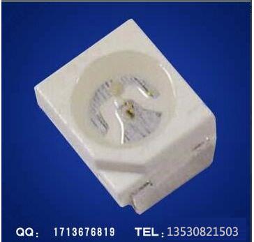 供应用于发光字灯条的3528贴片蓝光LED 铜支架合金线 462-465NM  长期稳定供货  3528蓝光LED