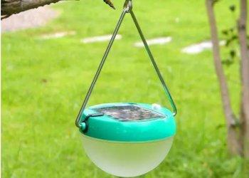 太阳能晶硅板USB小夜灯图片