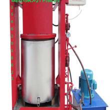 供应国标100螺旋榨油机制造商,聚财新式家用大豆菜籽挤油机全套设备批发