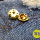 供应用于服装的蝴蝶扣 刺马针 蝴蝶帽 徽标扣