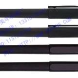 黑色中性广告笔、磨沙签字笔、广州广告笔厂、珠海笔厂