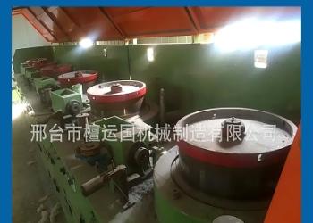 大型滑轮式钢筋冷拔丝机图片