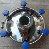 供应用于罐体配件|反应设备配件的不锈钢人孔盖椭圆人孔卫生级人孔