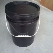 厂家直销20L黑色美式桶圆桶图片