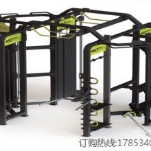 供应ASJ-360-F多功能训练器力量有氧器械提供了循环训练、弹力带训练、TRX悬挂训练、胡玲训练、拳击训练、课程图片