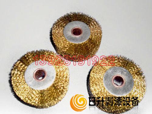 供应铜丝轮 平行铜丝轮 铜丝刷 铜丝抛光轮 铜丝抛光刷 钢丝轮平行钢丝轮