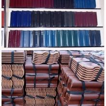 供应安徽陶瓷瓦、石板瓦、S瓦、T型瓦、合肥陶瓷瓦价格直销、西班牙