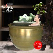 供应用于洗澡|沐浴|美容的上海极乐汤陶瓷大缸生产厂家