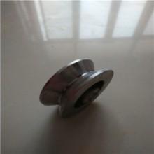 供应用于工业设备的尼龙滑轮U型轨道轮 滑轮批发 工业门滑轮定做厂家图片