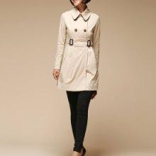 供应用于出售的新款唯美女式风衣