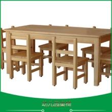 成都学生床幼儿园家具供应幼儿园桌椅、实木桌椅|幼儿园木质桌椅 儿童用餐桌椅 学习桌椅批发