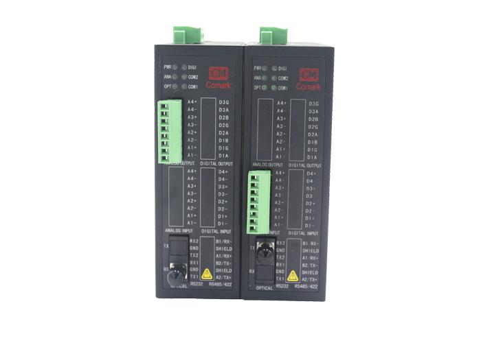 供应深圳讯记4-20ma电流模拟量光纤转换器,模拟量信号输出