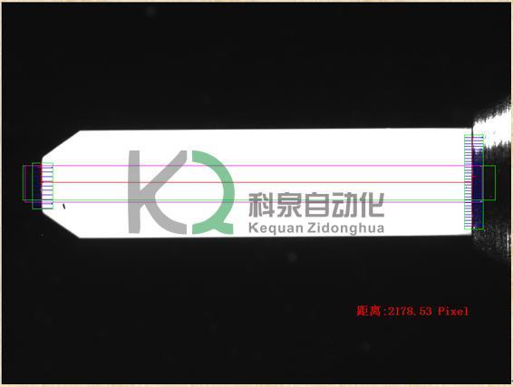 供应东莞排线FFC尺寸测量视觉系统厂家