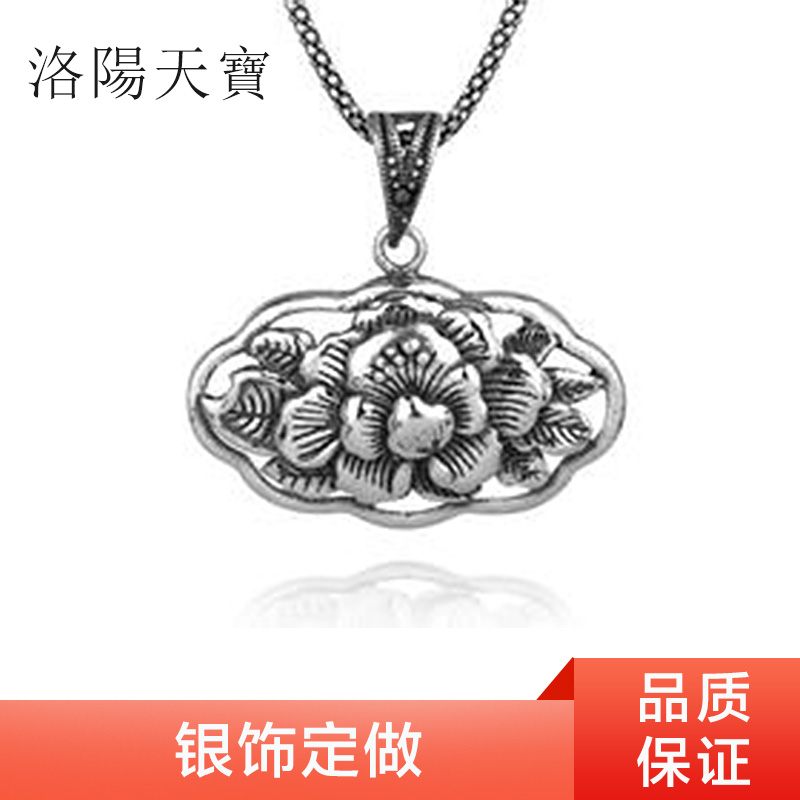 供应银饰定做  银饰项链 银饰戒指 银饰工艺品定制加工 银饰定做厂家