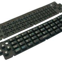 供应硅胶电脑键盘按键 硅胶软键盘 电子配件 笔记本按键 工业用橡胶制品批发