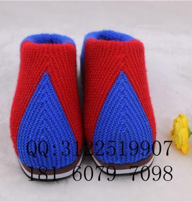 毛线棉鞋图片/毛线棉鞋样板图 (3)