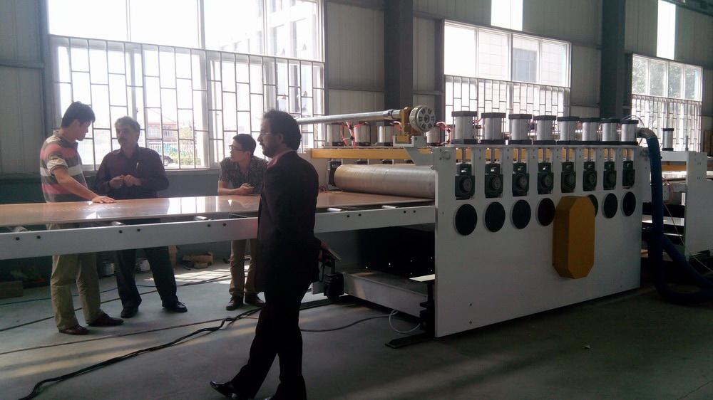 河北 PVC仿大理石装饰板设备