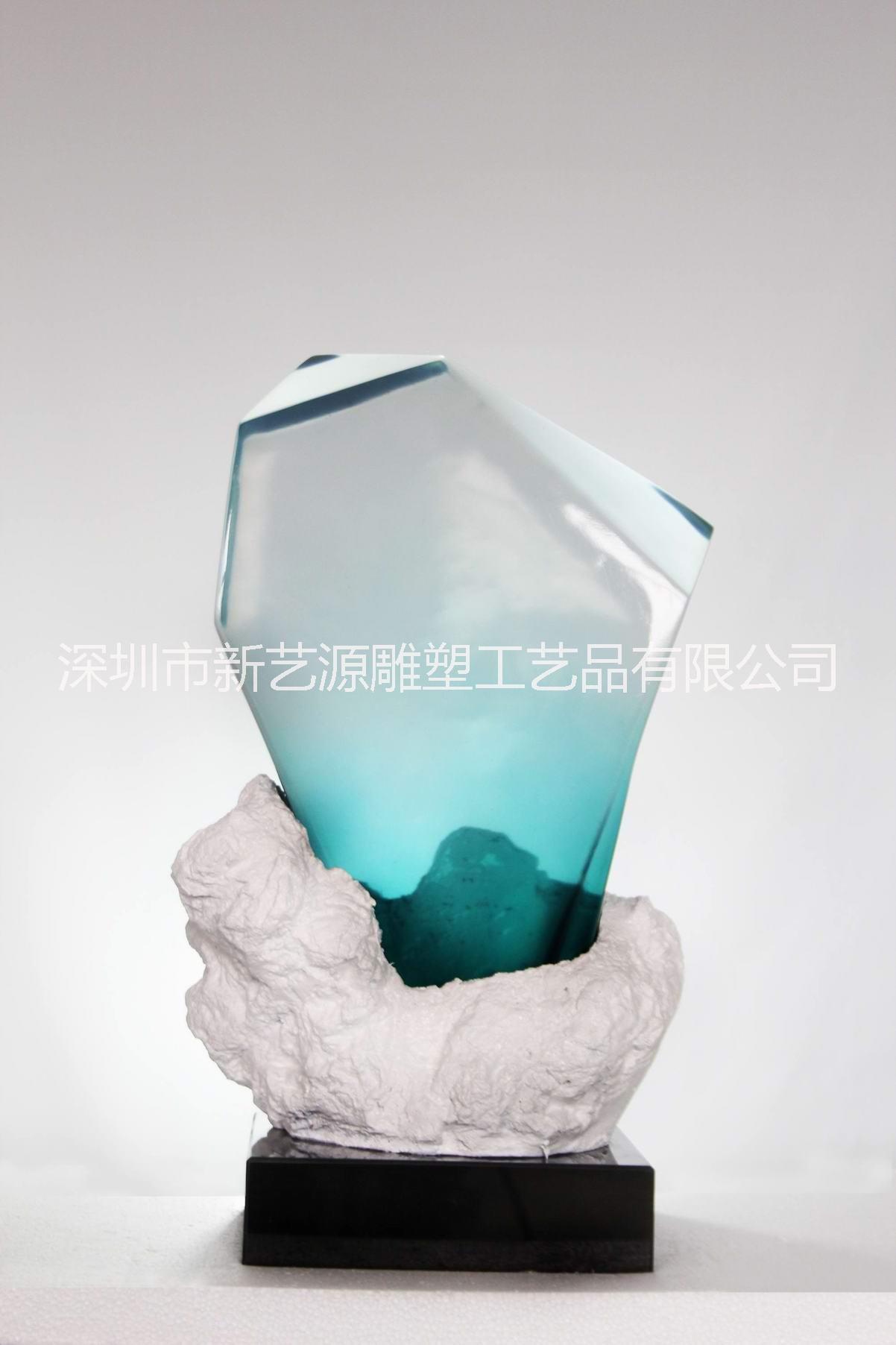 透明树脂雕塑摆件挂件