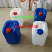 白色小口方10L塑料桶供应厂家图片