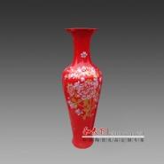 景德镇青花手绘大花瓶 陶瓷工艺品图片
