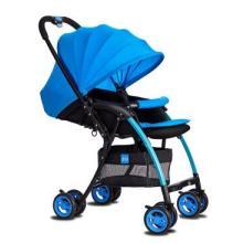 婴儿推车可坐可躺高景观轻便婴儿车可折叠避震四轮推车伞车儿童手推车 SUSFK