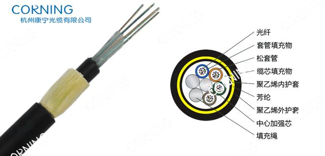 供应用于架空光缆|电力光缆|非金属光缆的adss光缆,24芯adss光缆
