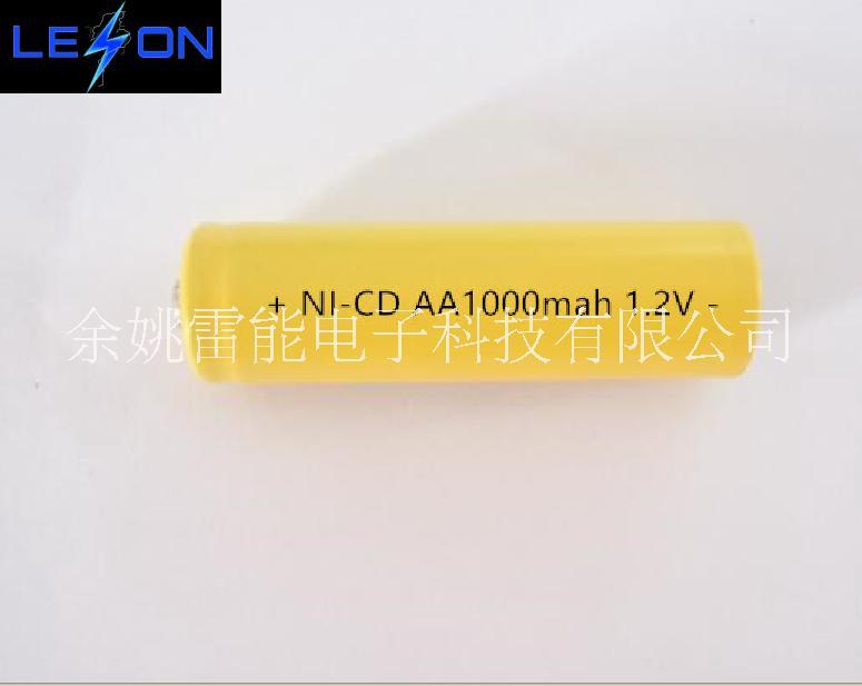 供应镍镉电池AA1000mAh 镍铬电池 五号镉镍电池 AA铬镍电池 1.2VAA五号充电电池 1.2V电池